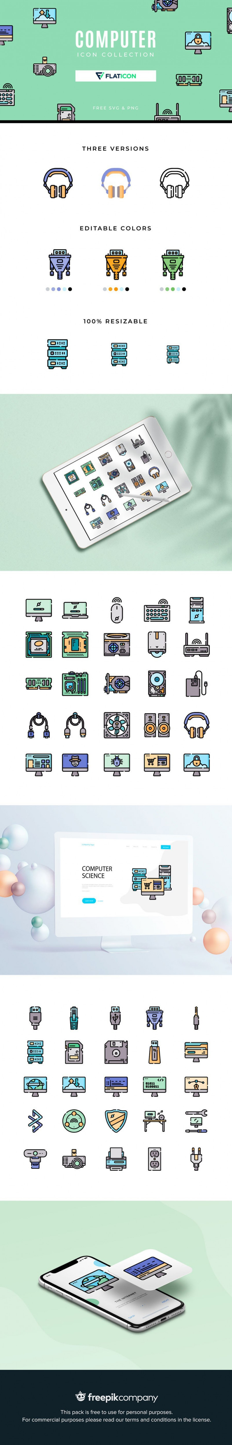 Free Computer Icon Collection